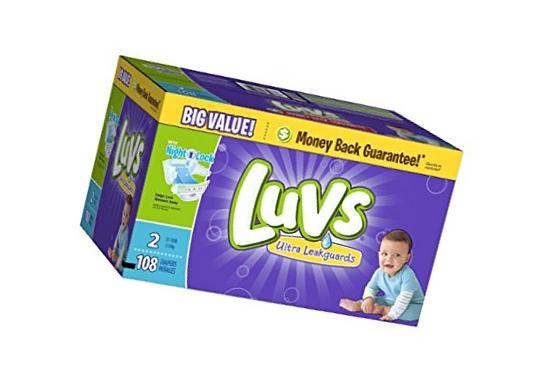 Luvs Ultra Leakguards Diapers, One Month Supply, Size 4, 192