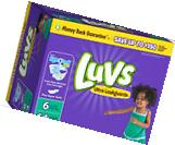 Luvs Ultra Leakguards with Night Lock Diapers Size 6 - 3