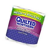 Quilted Northern Ultra Plush 3 ply Toilet Paper 12 Mega