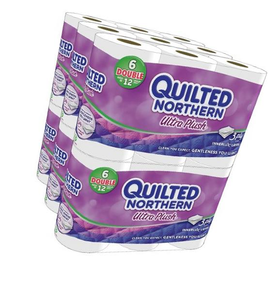 Quilted Northern Ultra Plush 3ply Bath Tissue 96 Double