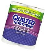 Quilted Northern Ultra Plush Bath Tissue Mega Rolls