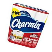 Charmin Ultra Strong Super Mega Tissue  NEW NEW NEW