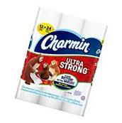 Charmin Ultra Strong Toilet Paper, Bath Tissue, Double Roll