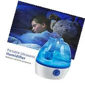Ultrasonic Cool Mist Humidifier 2.2L Portable Home Office
