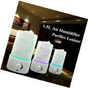 WNOSH 1.5L Ultrasonic Home Aroma Humidifier Air Diffuser