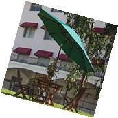 9' Patio Umbrella Outdoor Table Market Umbrella with Push