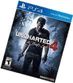 Uncharted 4 PS4: A Thief's End - Sony PlayStation 4 BRAND