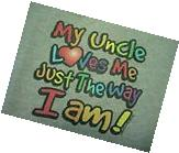 My  Uncle Loves Me Kid's Gray T-Shirt & Shorts Set Size 2