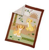 Lion King Under the Sun 4-Piece Crib Bedding Set