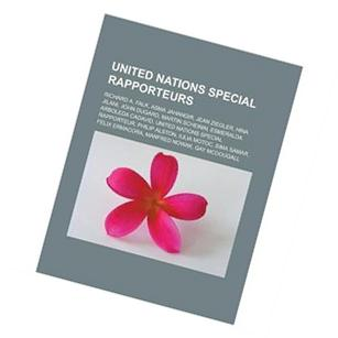 United Nations Special Rapporteurs: Richard A. Falk, Asma
