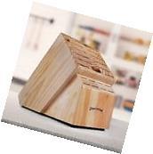 Universal Kitchen Knife Storage Block Holder Cutler