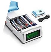 Universal LCD Rapid Battery Charger for AA/AAA NI-MH NICD