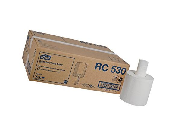 """Tork Universal RC530 Centerfeed Paper Towel 2-Ply 7.6"""" Width"""