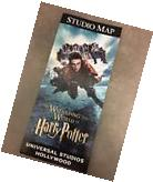 Universal Studios Hollywood 2017 Guide Map Wizarding World