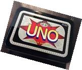 Mattel UNO Card Game 25th Silver Anniversary SPECIAL EDITION