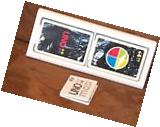 Mattel Uno MOD Card Game Complete with Case and Instructions