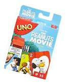 UNO The Peanuts Movie Card Game, New, Free Shipping