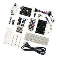 SainSmart UNO R3 MEGA328P-AU SMD Starter Kit with 16 Basic