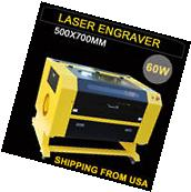 Upgrated 60W CO2 Laser Engraving Cutting Machine Engraver