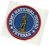US Army National Guard Veteran   PATCH