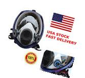 US Full Face Facepiece Respirator Painting Spraying Gas/dust Mask For 3M 6800