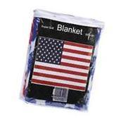 New US FLAG Soft Plush Fleece BLANKET Bed Sofa Cover Throw