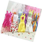 US Stock 10pcs Fashion Handmade Party Clothes Dresses outfit