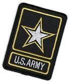 US Military United States Army Army of One Star Embroidery