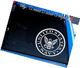 US Navy Emblem Vinyl Car Decal Sticker / Choose Color - HIGH