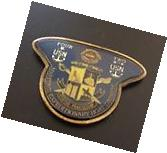 US Navy Maritime Expeditionary Boat Division Challenge Coin