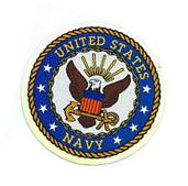 US NAVY 3 INCH STICKER - MADE IN THE USA