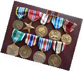 US Service Medals 2 tours IRAQ & AFGHANISTAN