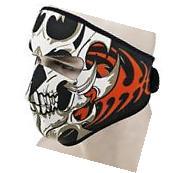 US Warm Motorcycle Bike Cycling Half Face Mask Skull Ski