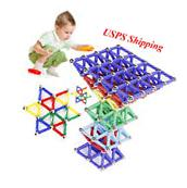 USA! 60 * Children Magnetic Toys Sticks Building Blocks Set