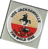 USS JACKSONVILLE SSN-699 US.NAVY PATCH NUCLEAR SUBMARINE