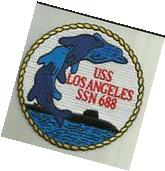 USS LOS ANGELES SSN 688 US NAVY PATCH SUBMARINE SAILOR