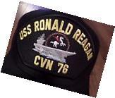 USS RONALD REAGAN CVN-76 NAVY SHIP HAT OFFICIAL U.S MILITARY