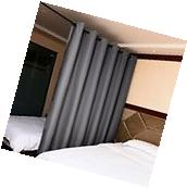 Utterblackout Wide Width Blackout Curtains for Glass Window