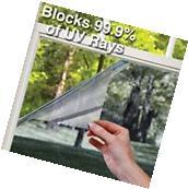 99% UV Blocking Heat Control Window Tint Vinyl Wrap Roll
