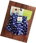 NEW Speedo UV Swim Diaper Shorts Blue Shark Baby Kid size S