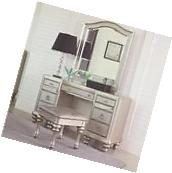 Coaster 204187 188 189 Bedroom Vanity Desk And Mirror Set