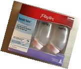 Pack of 3 Playtex VentAire Standard Bottles with Slow Flow