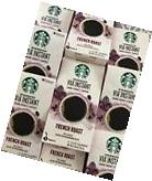 Starbucks VIA INSTANT Mixed Coffee 104 Single Packets+ Star