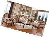 Victorian Traditional Antique Style Sofa & LoveSeat Formal Living Room Furniture