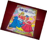 Vintage 1973 Mods Matchin' Paper Doll Book! New