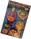Vintage 1981 Beistle 11 Cute Assorted Halloween Cutouts