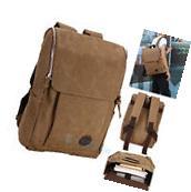 Men Women Vintage Canvas backpack Rucksack Shoulder travel