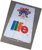 Vintage Cap'n Crunch and Life Cereal Premium Sevylor Raft -
