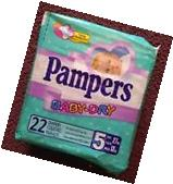 Vintage Pampers Diapers Plastic Size 5 XL abdl couche windel