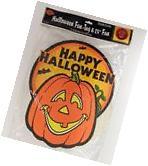 Vintage Beistle Happy Halloween Fan 01168 25in Honeycomb Art